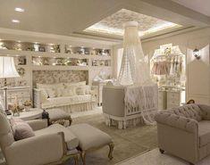 Baby Bedroom, Baby Room Decor, Nursery Room, Girl Nursery, Girl Room, Girls Bedroom, Princess Nursery Theme, Royal Nursery, Princess Girl