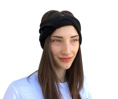 Warm Headbands, Headbands For Women, Beanie Outfit, Cashmere Beanie, Cashmere Color, Knitted Headband, Elegant Outfit, Ear Warmers, Headband Hairstyles