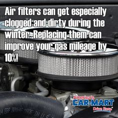 An easy way to improve your gas mileage! #tipoftheweek #carmaintenance #gasmileage #americascarmart #driveeasy