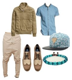 Untitled #68 by rhianmcx on Polyvore featuring H&M and Jack & Jones