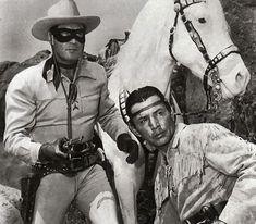lone ranger....Hey sisco, hey poncho