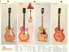 1973 - Ibanez Electric Basses & Guitars - Ibanez Catalogs - Ibanez wiki