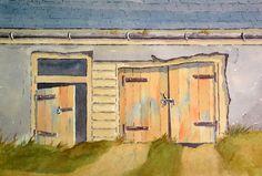 Barn Doors Watercolours, Watercolor Paintings, Peter Robinson, Door Prizes, Old Churches, Barn Doors, Barns, My Arts, Artwork