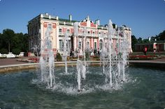 The Catherine II the Great Palace, (The Russian Empress' during her rule Kadriorg (Catherine's valley),Tallinn, Estonia Palace, Baltic Region, Baltic Sea, Life Is Beautiful, Cool Watches, Travel Photos, Tourism, Around The Worlds, Turismo