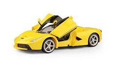 Officially Licensed Ferrari La Ferrari LaFerrari RC Car with Open Door Function Scale 1:14 Color Yellow