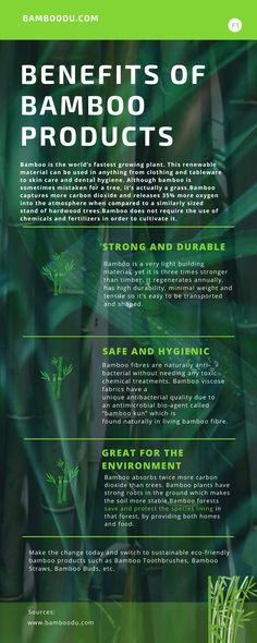 Benefits of Bamboo Products
