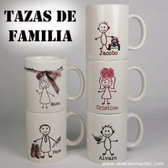tazas personalizadas - Buscar con Google Painted Mugs, Hand Painted Ceramics, Coffee Mug Crafts, Sharpie Paint, Party Streamers, Pots, Mug Decorating, Mug Art, Diy Mugs