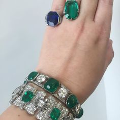 Art Deco a go-go in our upcoming London Fine jewellery sale on 4 December including bracelets by Cartier and Chaumet and many fine coloured gems. #sneakpeak #buyrocksnotstocks #jewelryisart #artdeco #burmasapphire #colombianemerald #cartier #chaumet #styledbybonhams