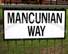 framed photography manchester 'the only way' by sharonchapmanmedia