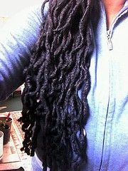 Lovely locs, absolutely nothing dreadful about it.