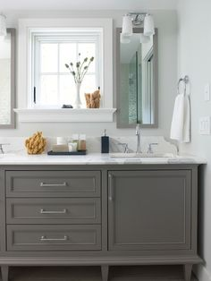 If you like this try White Carrera marble and check out Porcelain floor tile, 12 x 24 format in a warm beige/gray at your local tile shop. Description from houzz.com. I searched for this on bing.com/images