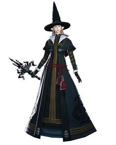 Black Mage Render