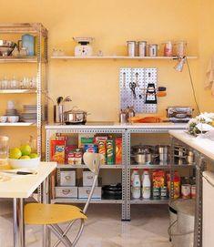 Planejamento de cozinhas sem armário