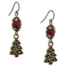Merry Christmas Darling Earrings | Fusion Beads Inspiration Gallery
