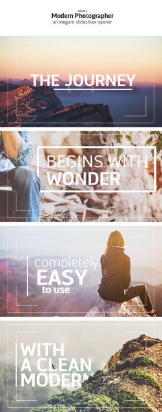 Videohive Modern Photographer Slideshow Opener » Free After Effects Templates | Videohive Free AE Projects