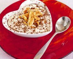 Tiramisu with honeycomb crunch
