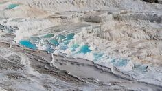 Pamukkale - Turkey Photo by Andrea Loriga, taken 8-12-14 -- This is Pamukkale and it is located in Turkey. A wonderful place where water, over thousands of years, have formed these beautiful limestone pools. -- National Geographic Your Shot
