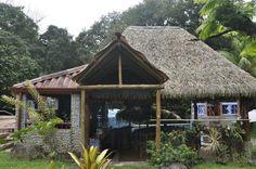 Ballena Beach Club restaurant near Ojochal, Costa Rica