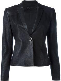 DROME Leather Blazer. #drome #cloth #blazer