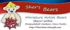 Sher's Bears - Artist Bears and Handmade Bears
