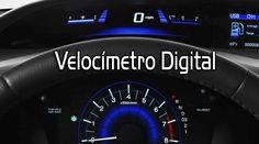 #Honda #CivicCoupe  Velocímetro digital iluminado en colores dependiendo de la forma de manejo, ECON ó Normal.