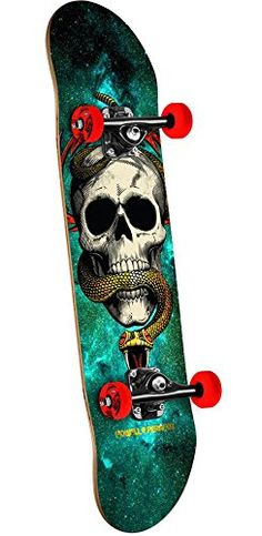 Standard Skateboards - PowellPeralta Skull and Snake Cosmic Green Complete Skateboard -- Check out the image by visiting the link.