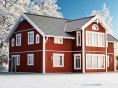 Finland, Sweet Home, Cottage, Houses, Exterior, Cabin, House Styles, Building, Inspiration
