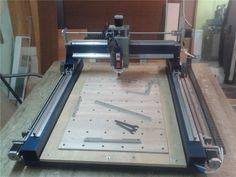 Cnc Woodworking, Woodworking Techniques, Homemade Cnc Router, Routeur Cnc, Cnc Table, Cnc Plans, Cnc Milling Machine, Cnc Projects, 3d Printer