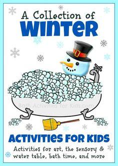 Bath Activities for Kids: Winter Baths & Activities for Kids