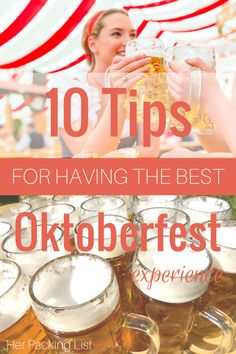 Tips for having the BEST Oktoberfest experience! Tips for having the BEST Oktoberfest experience! Oktoberfest Party, Munich Oktoberfest, Gaudi, Her Packing List, Travel Packing, Munich Germany, Beer Festival, Backpacking Europe, Eurotrip