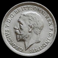 1926 George V Silver Threepence – Scarce