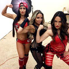 Nikki Bella, Trish Stratus, Brie Bella
