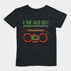 ATCQ t-shirt in tri-blend from TeePublic