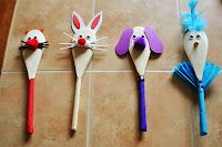 Make cool wooden spoon animals!