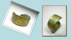 Cuff Bracelet Faux Antique Bronze Patina handmade by BeadazzleMe, $22.00