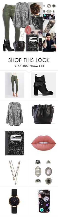 """School Day #10"" by blackest-raven ❤ liked on Polyvore featuring Refuge, Coach, Proenza Schouler, Mead, Lime Crime, Topshop, Abbott Lyon and Nikki Strange"