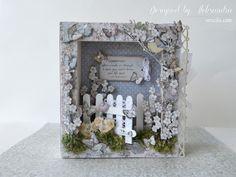 """Shadow book box """"Secret garden"""""""
