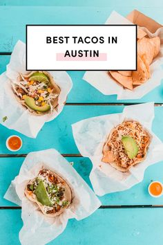 Best Tacos In Austin You Have To Eat by A Taste Of Koko. Who doesn't love tacos? Use this ultimate guide to feast on the best in Austin! Breakfast Tacos, Best Breakfast, Best Tacos In Austin, Best Mexican Recipes, Ethnic Recipes, Homemade Corn Tortillas, Austin Food, Cooking On The Grill, Foodie Travel