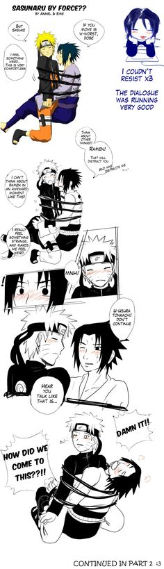 SasuNaru by force?? by Midorikawa-eMe111.deviantart.com on @deviantART