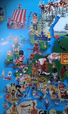 Europa según playmobil