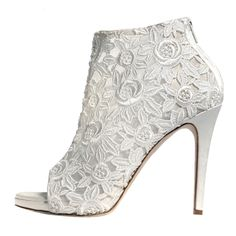 MARY KYRI | SARAFINA BOOTS | WHITE - Italian-Made Designer Footwear on Brands Exclusive♥♥