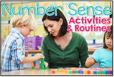 All about number sense in the kindergarten classroom!