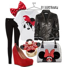 Minnie Mouse outfit. i like it all besides the jacket with it