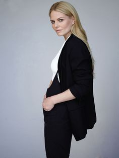 Jennifer Morrison in suit