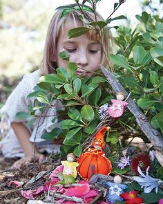 Create fairies and gnomes to live in your homes