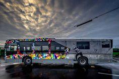 Street Art Buses in Stavanger Norway Stavanger Norway, Street Art, Creators Project, Beautiful Streets, Art Festival, Urban Art, Illustration Art, Illustrations, Images