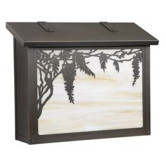 Americas Finest Lighting Wisteria Large Mailbox - AF-393-NV-GI