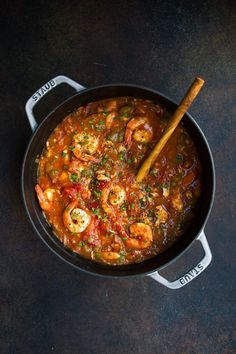 Whole30 Instant Pot Seafood Gumbo recipe. This Whole30 Instant Pot soup is filled with all of the nutrients and flavor. Inside are barramundi sea bass filets, shrimp & delicious vegetables. Serve with a scoop of cauliflower rice or white rice. Whole30 soup recipes. Paleo soup recipes. Paleo gumbo. Instant pot soup recipes. Paleo Instant Pot soup recipes.