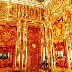Янтарная комната / Amber room, Rusia