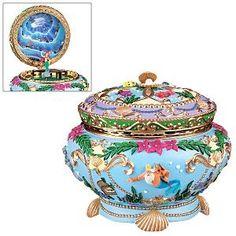 DISNEY Little Mermaid Ariel Music Box